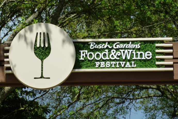 Food & Wine Festival and Beautiful Topiaries at Busch Gardens Tampa ...