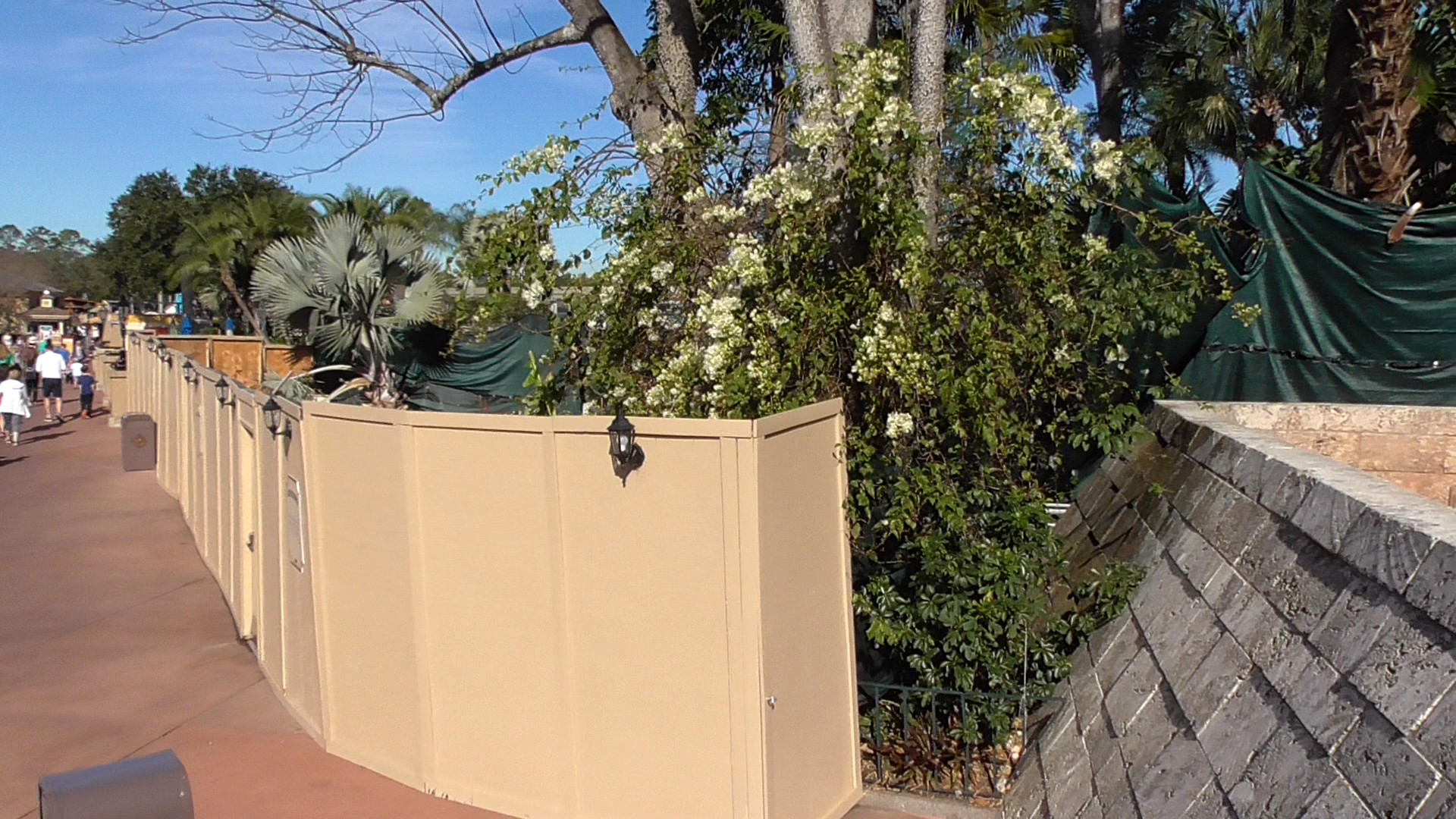 Epcot update flower garden preparations festival of the arts ending and choza tequila - Gardening works in october winter preparations ...
