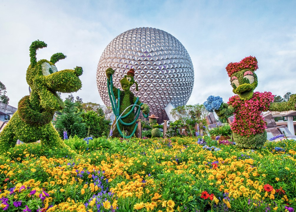 Epcot flower garden festival 2017 complete guide food - Epcot flower and garden concerts ...