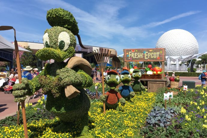 Epcot International Flower Garden Festival 2018 Dates And Concert Lineup Orlando Parkstop