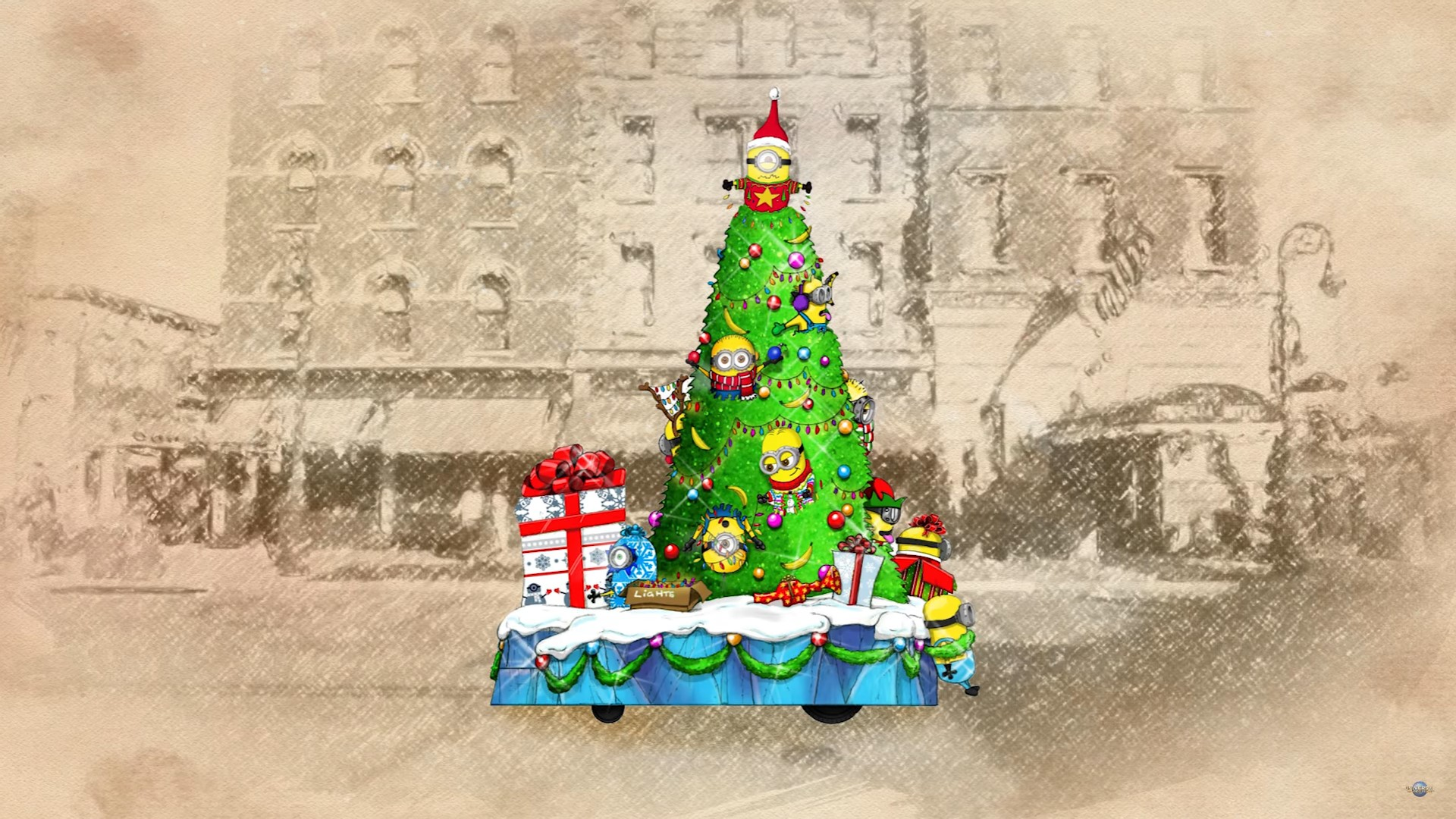 Fantastic Wallpaper Harry Potter Christmas - macys-holiday-parade-minions  Pictures_142279.jpg