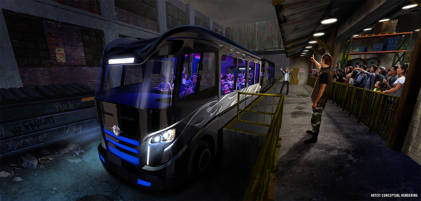 New Details For Fast Amp Furious Supercharged Opening