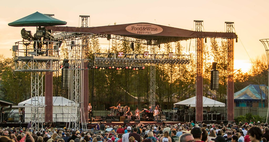 Busch Gardens Tampa Food Wine Festival 2018 Concert Lineup And Food Menus Orlando Parkstop