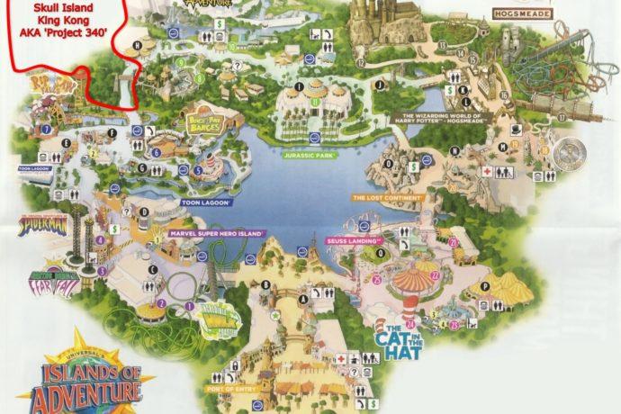 King Kong Construction Update – Bamboo Walls and Blueprints ... King Kong Ride Islands Of Adventure Map on king kong 2005, king kong skull island, adventure island tampa park map, universal studios islands of adventure map,