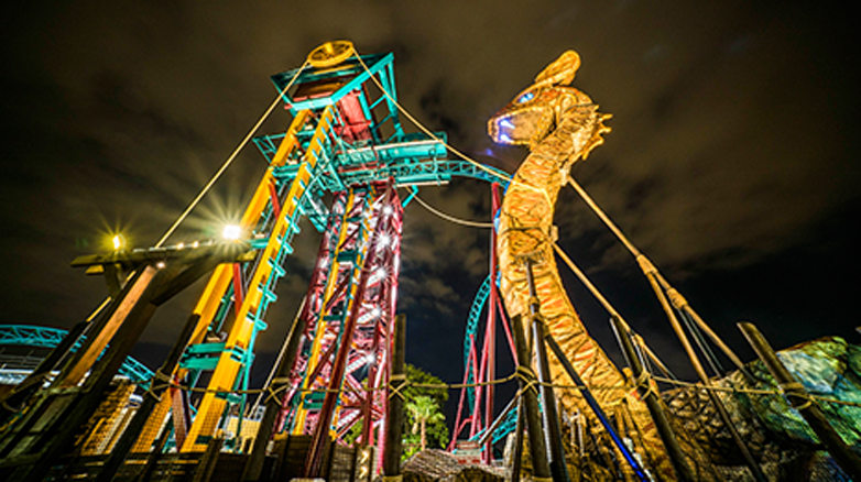 Floridau0027s Top Thrill Rides Will Be Open For Summer Nights, Including  Favorites Like Falconu0027s Fury, Cheetah Hunt, SheiKra And Busch Gardensu0027  Newest Spin ...