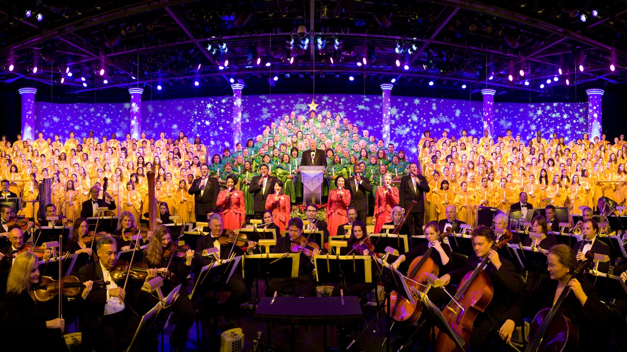 Epcot Festival Of The Holidays 2018 Candlelight Processional Dining Packages On Sale And Celebrity Line Up Orlando Parkstop