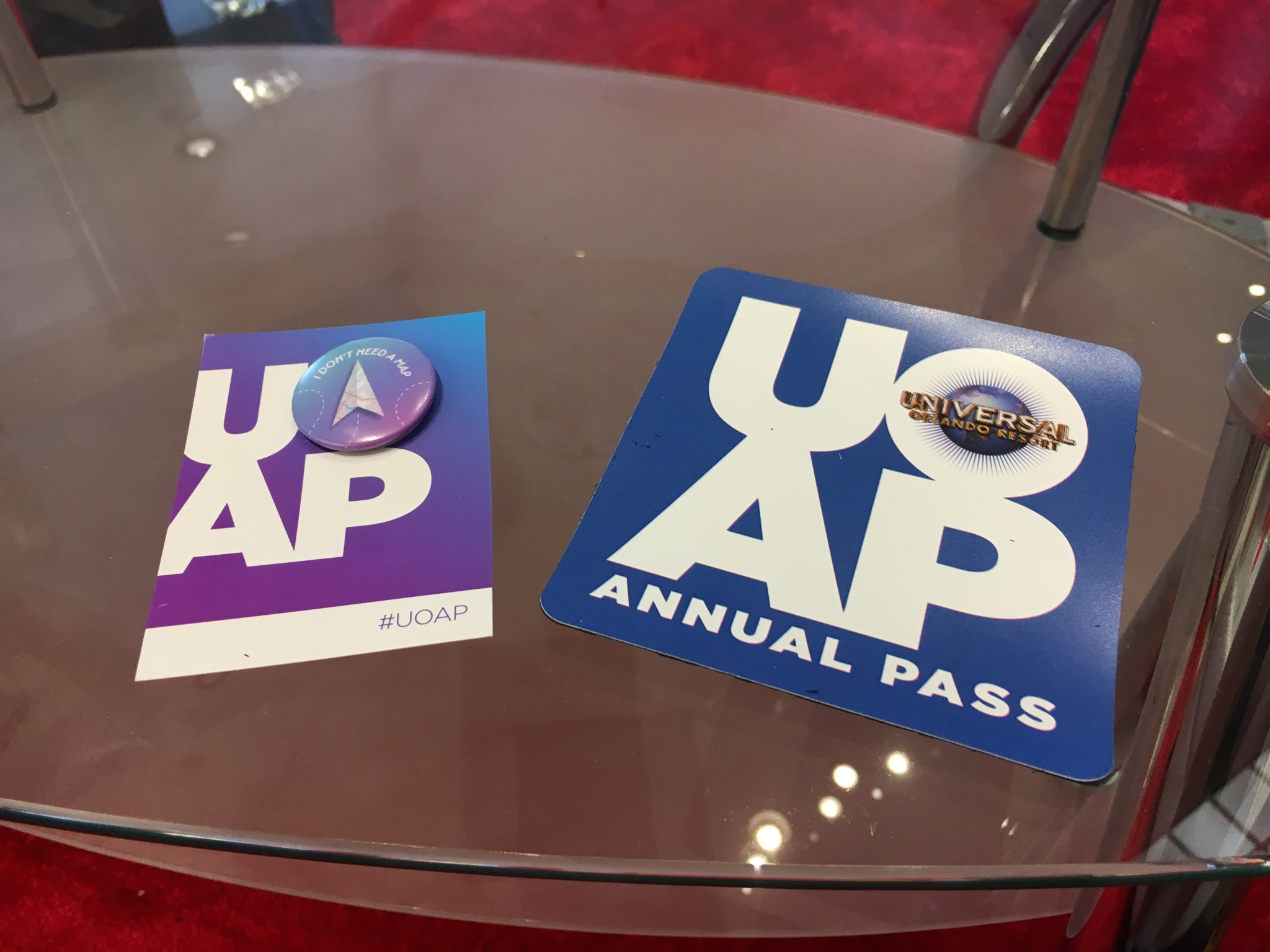 191f4497 Passholders can pick up free buttons (while available) and car magnets at  the lounge as well.