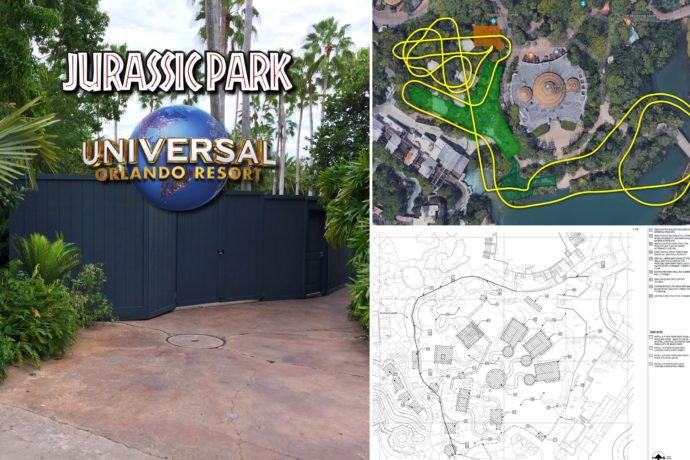 Jurassic Park Roller Coaster Update And Track Layout Revealed For Islands Of Adventure Orlando Parkstop
