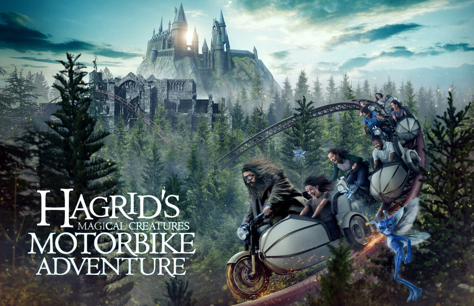 Walls Down at Hagrid's Magical Creatures Motorbike Adventure 10