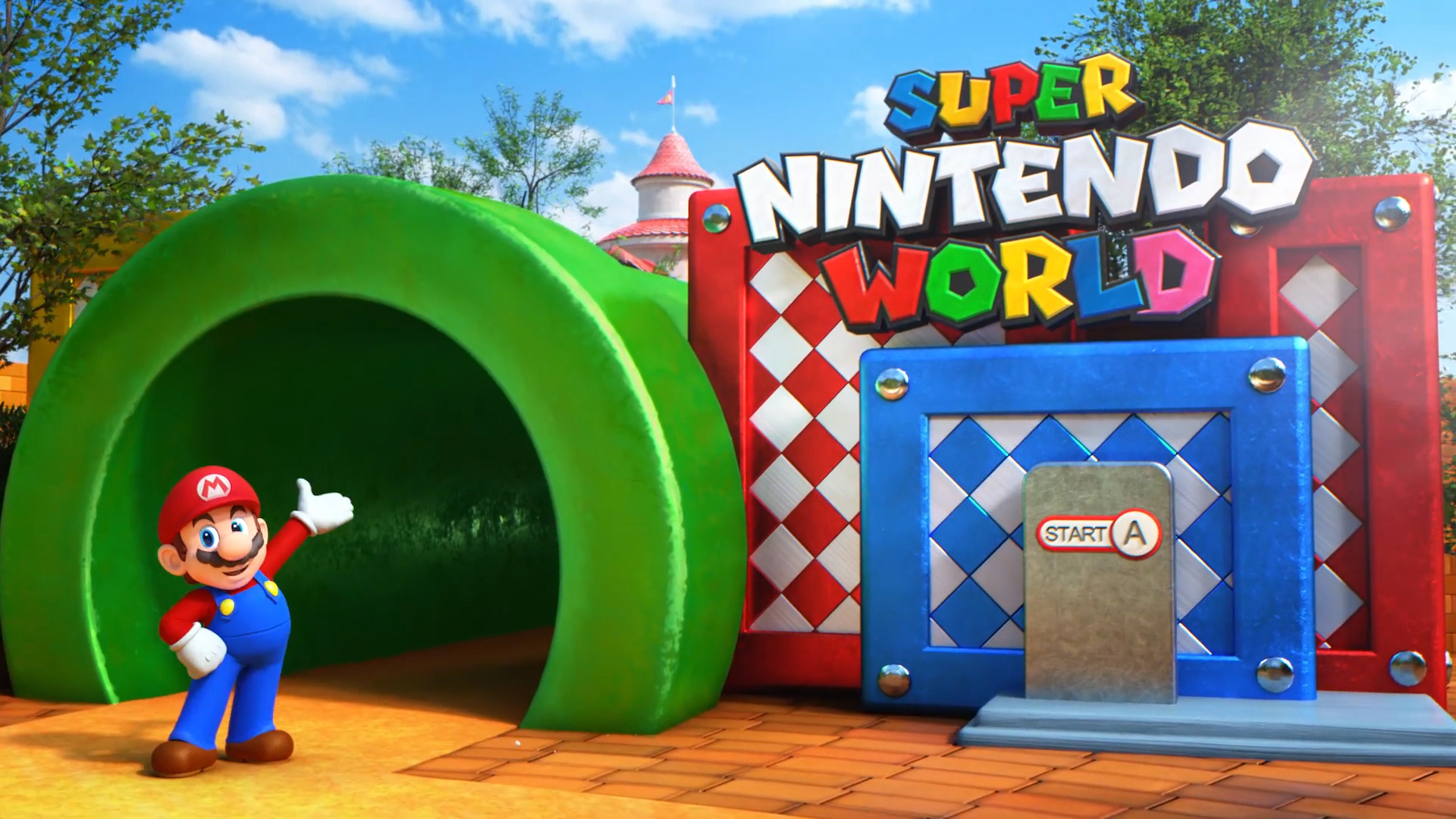 When Super Nintendo World Lands Will Open At Universal Parks