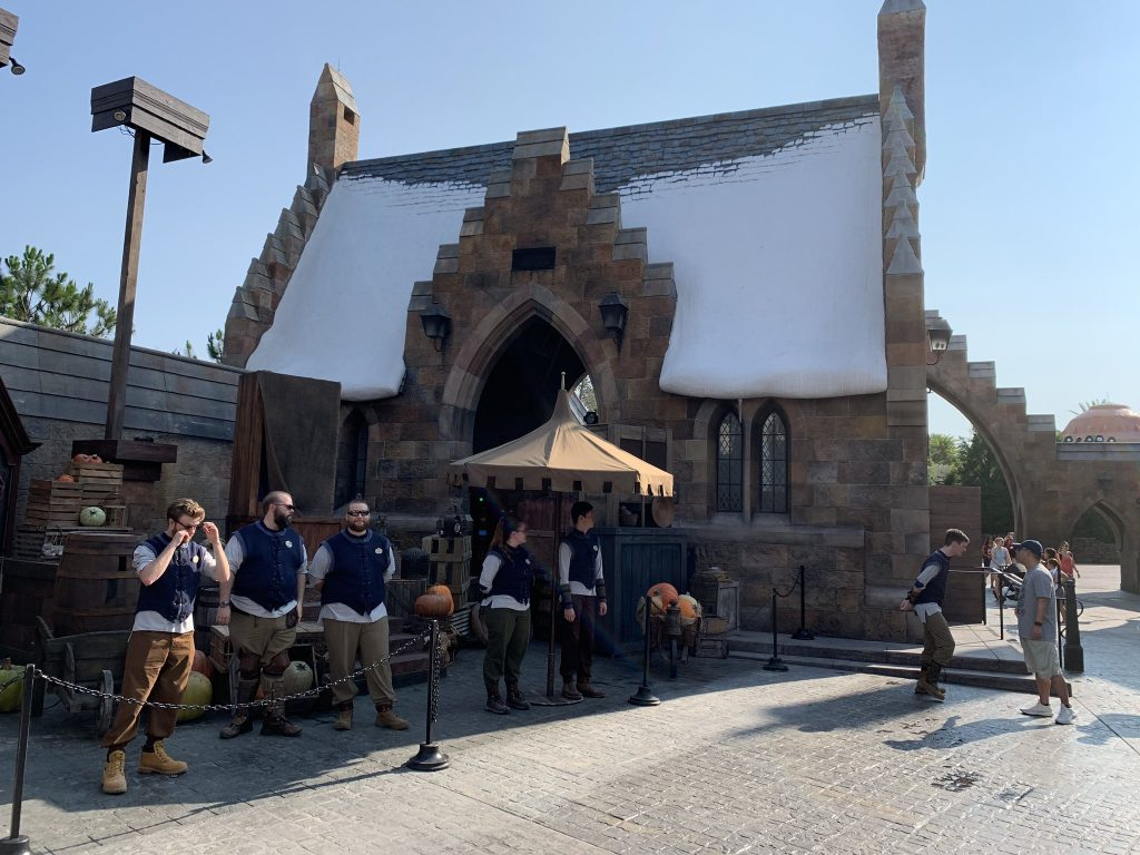 Walls Down at Hagrid's Magical Creatures Motorbike Adventure 7