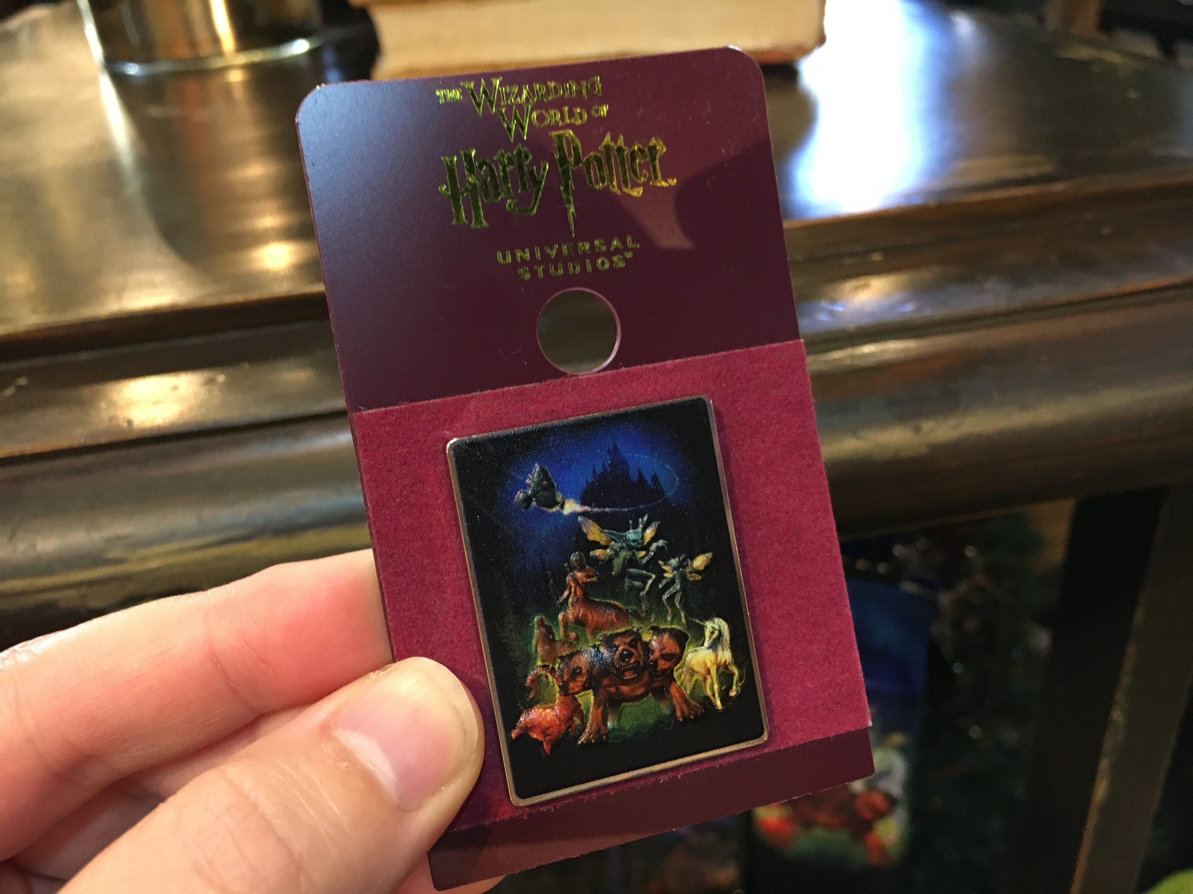 A Look At The Merchandise For Hagrid S Magical Creatures