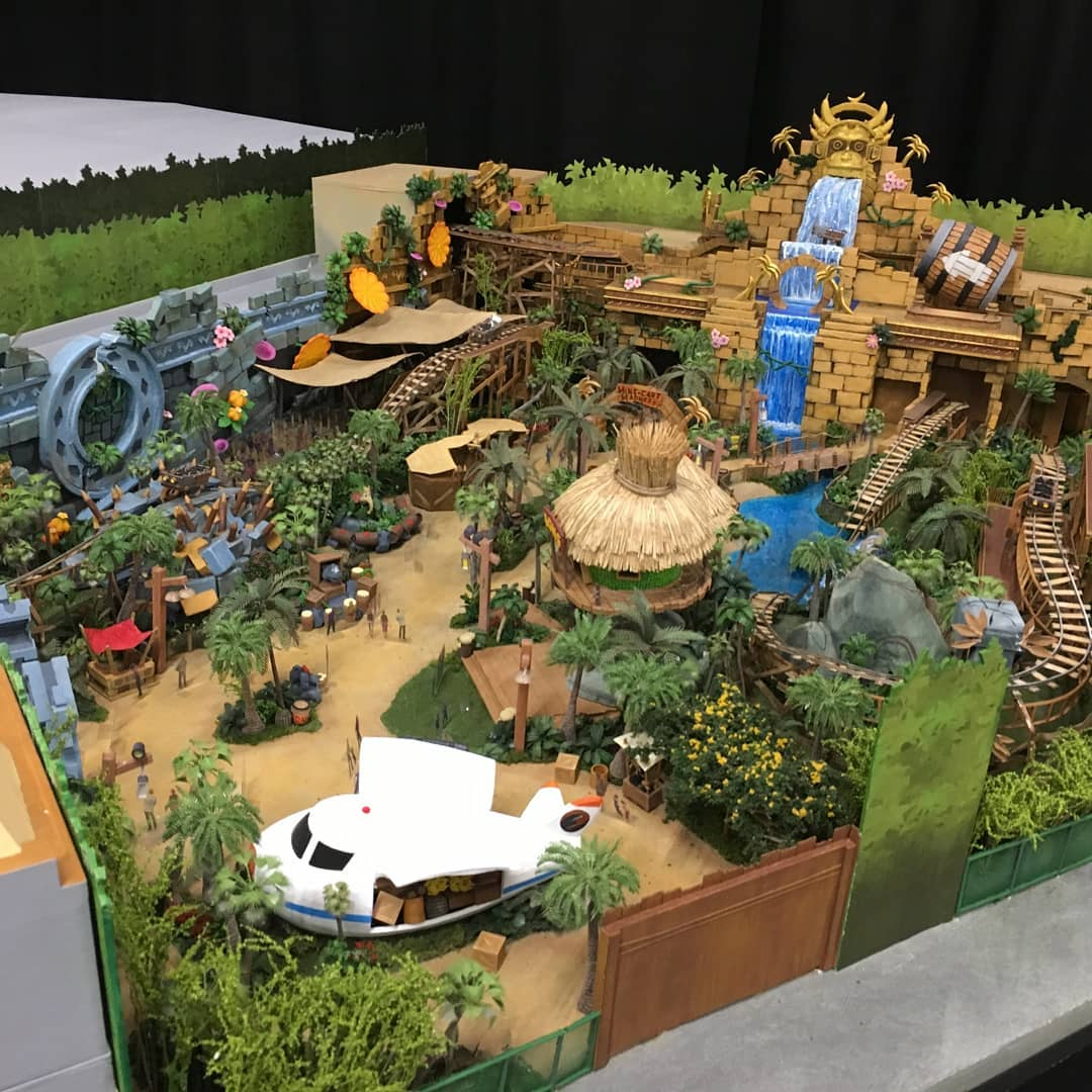 [Universal Studios Parks] Super Nintendo World (à partir de 2020) - Page 5 Nintendo-Model-DonkeyKong