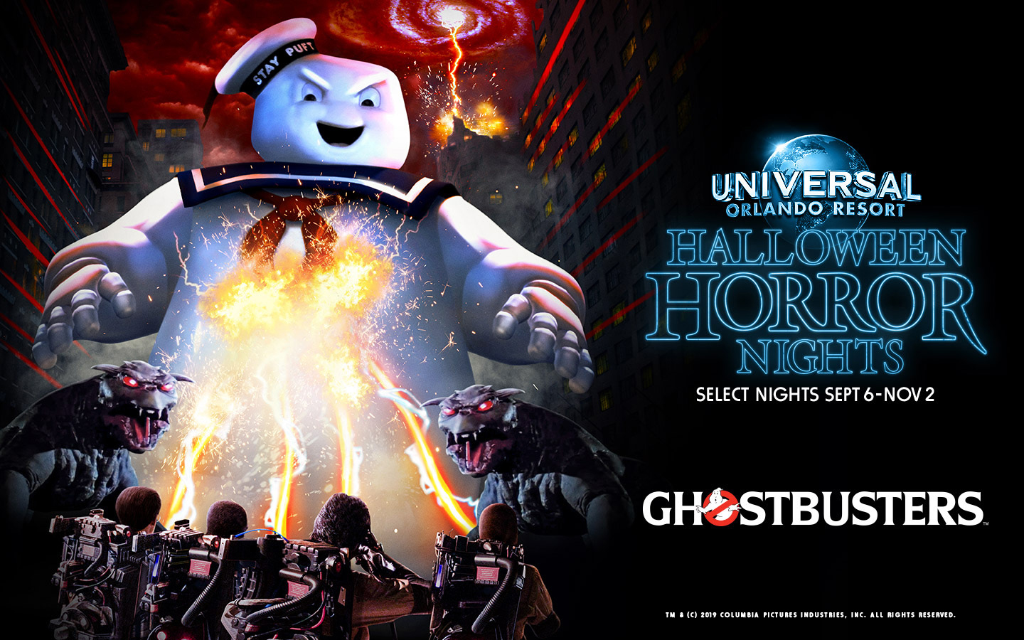 Halloween New York 2019.Ghostbusters Haunted House Confirmed For Halloween Horror Nights