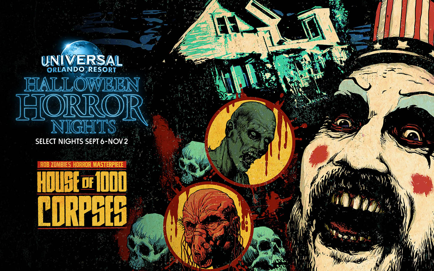 Halloween 2019.Last House For Halloween Horror Nights 2019 Announced House Of A