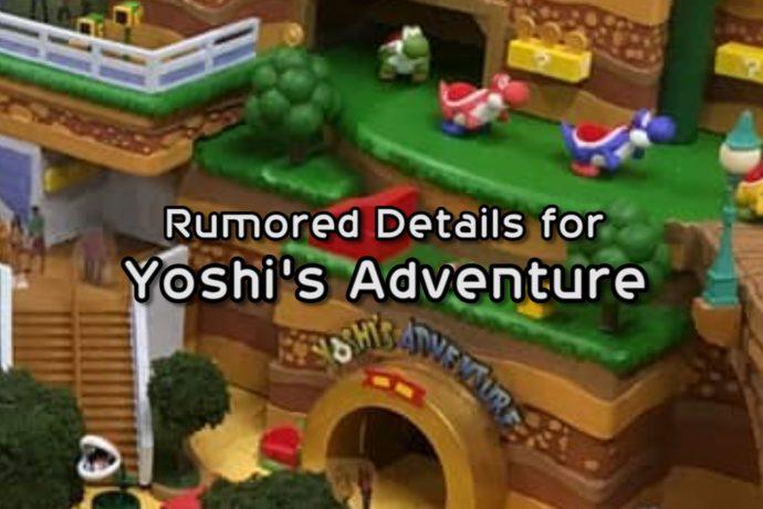 Video Yoshi Ride Rumors For Super Nintendo World At Universal Parks Orlando Parkstop
