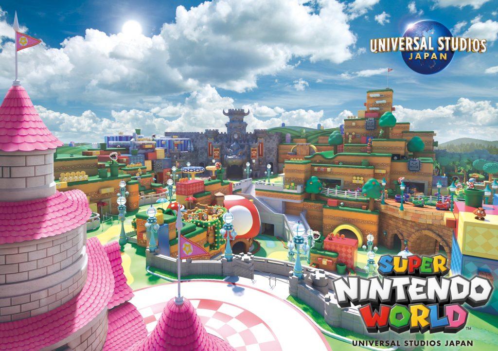 Concept Art for Super Nintendo World